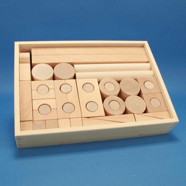 Froebel wooden blocks set 57
