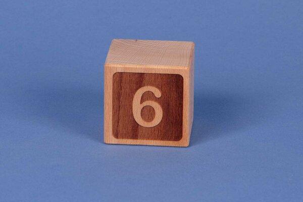 Letter cubes 6 negative