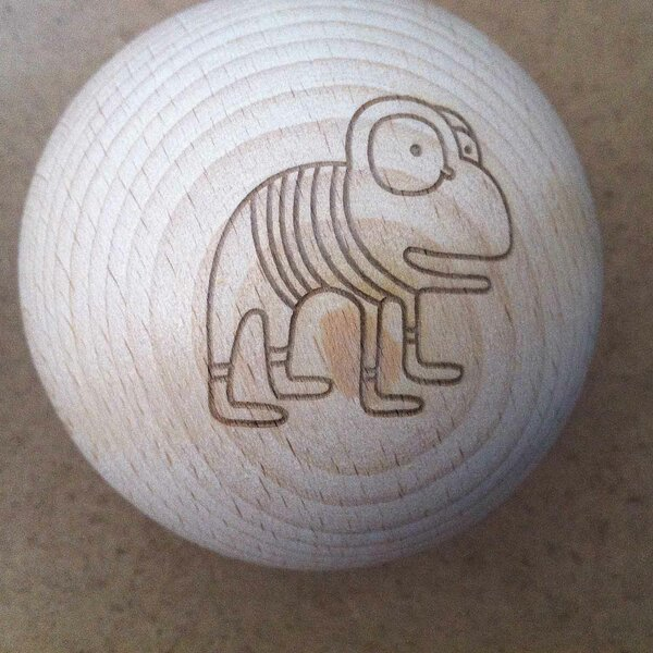 wooden balls - Production to order