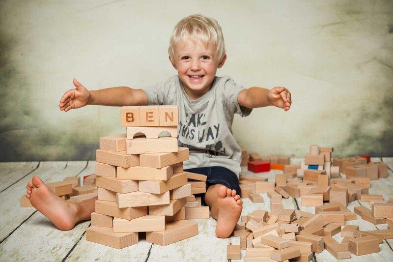 Fröbel wooden blocks