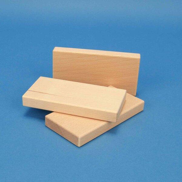 wooden building blocks 12 x 6 x 1,5 cm