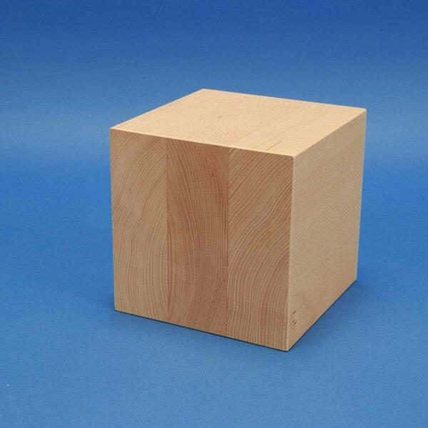 20 cm large wooden cubes