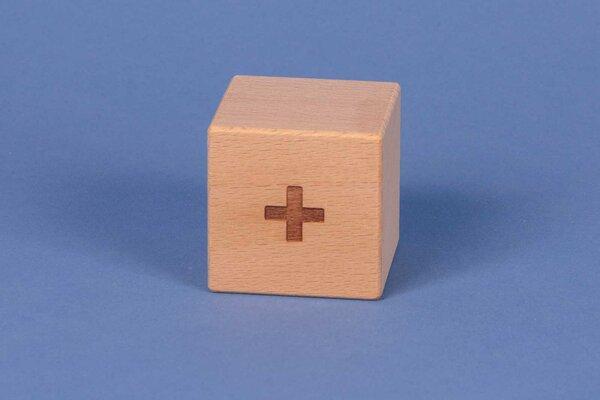 Letter cubes + positive