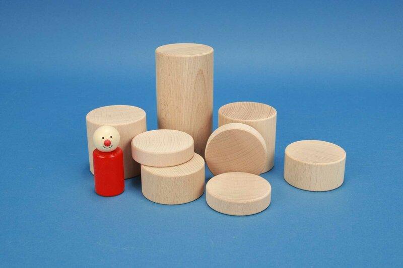 round wooden pillars Ø 6 cm