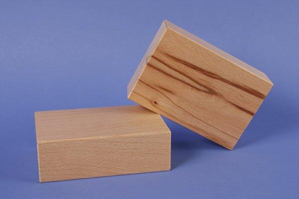 extra large wooden blocks 18 x 12 x 6 cm