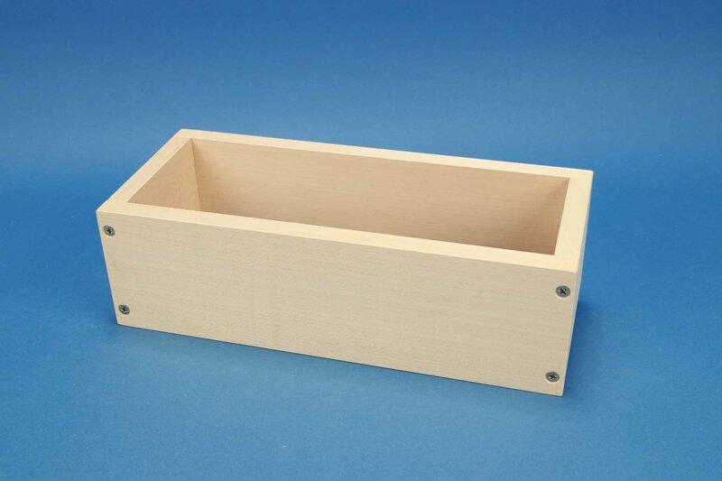 wooden baking frame