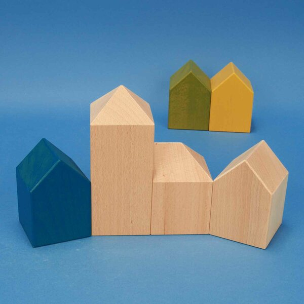 wooden building blocks - Production to order