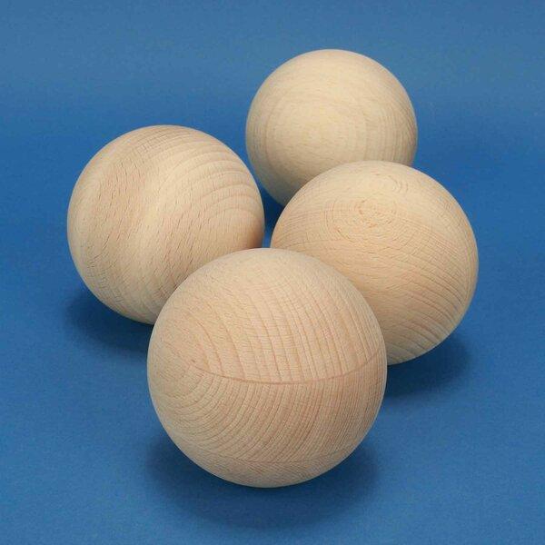 wooden balls beechwood Ø 100 mm