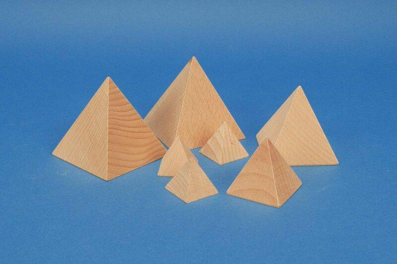 wooden pyramids