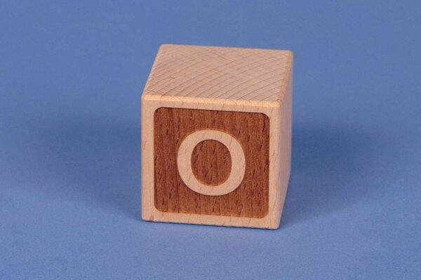 Letter cubes O negative