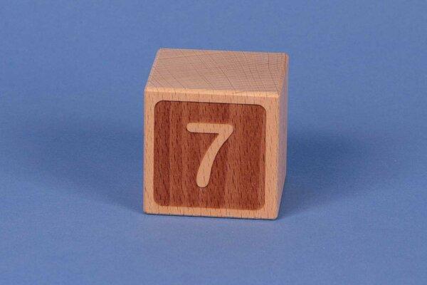 Letter cubes 7 negative