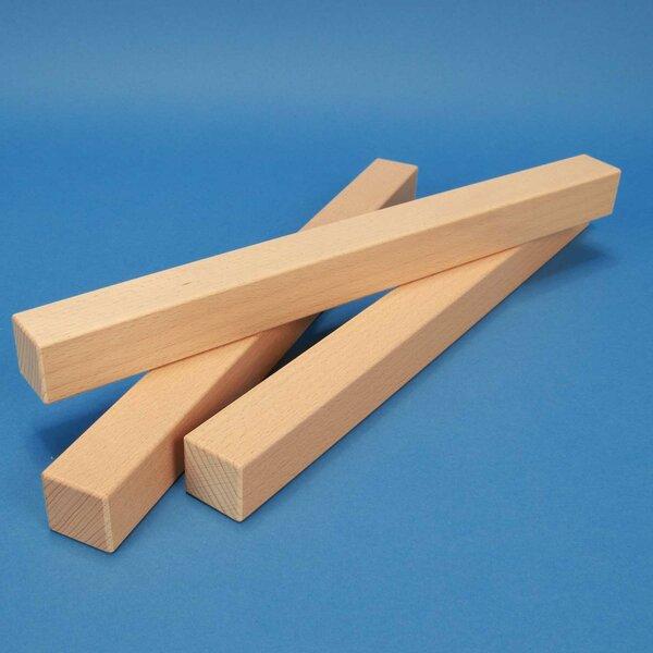 wooden blocks 36 x 3 x 3 cm