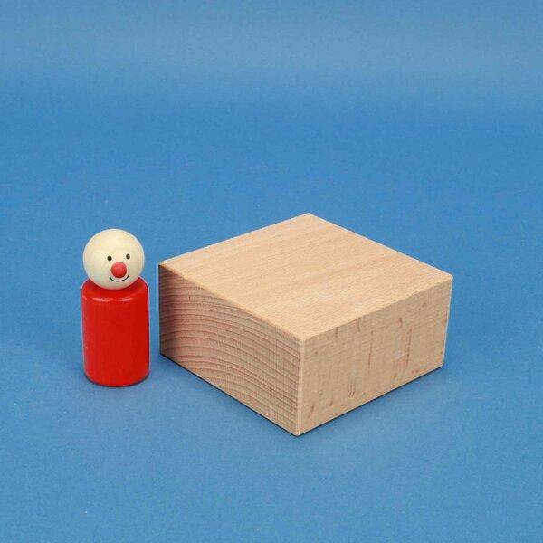 extra large wooden blocks 9 x 9 x 4,5 cm