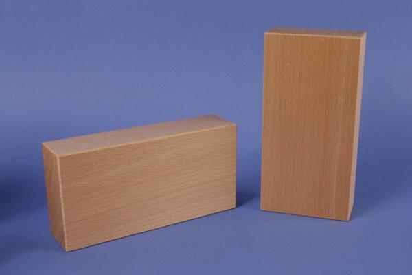 extra large wooden blocks 18 x 9 x 4,5 cm